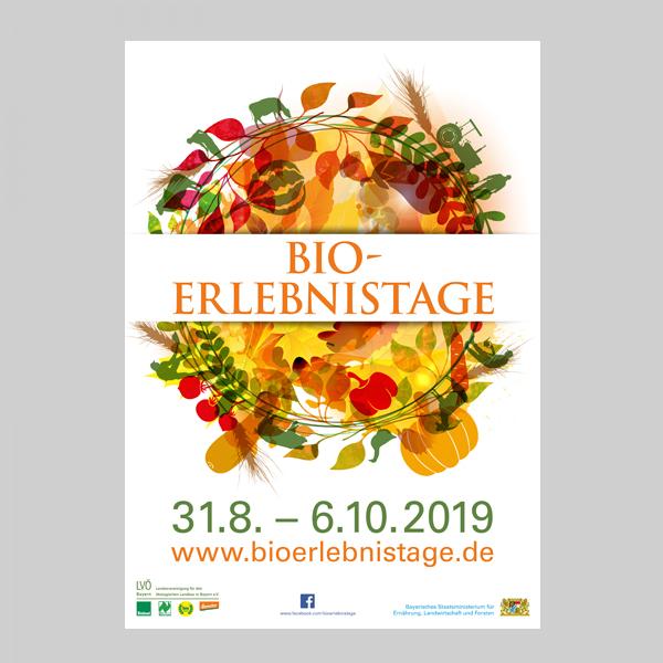 A1 Plakat Bio-Erlebnistage 2019