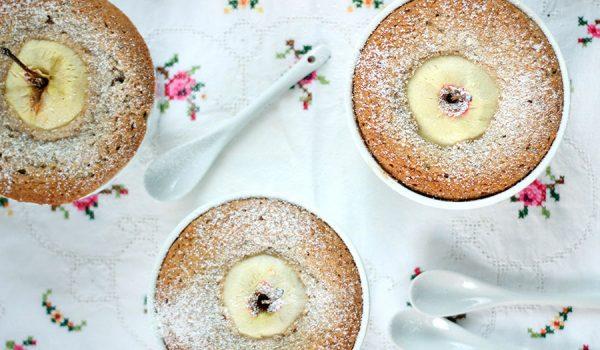 Schneller Bio-Bratapfelkuchen