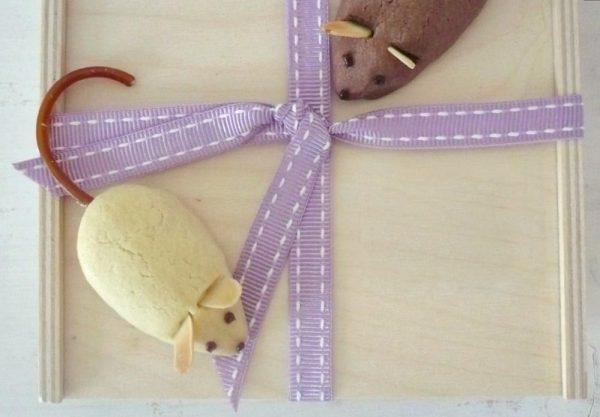 Mürbeteig-Mäuse