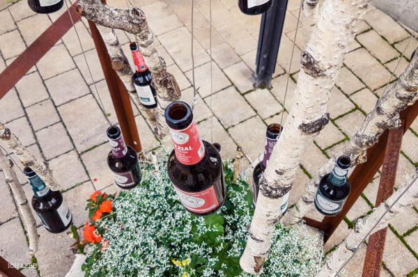 Das Getreide von den Ländereien des Klosters Plankstetten wird in der Riedenburger Brauerei gebraut. Neben Dinkel-Bier gibt es noch drei andere Sorten Klosterbier.