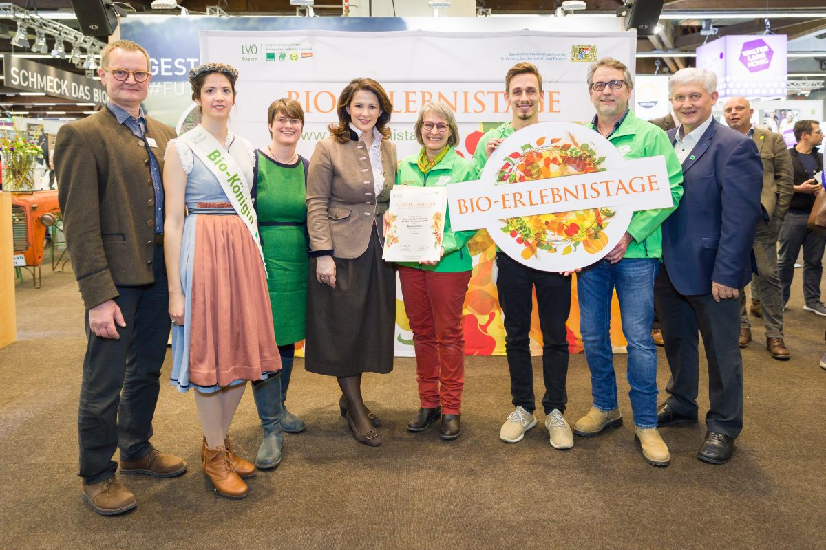 Gruppenbild Schönste Veranstaltung Baumannshof Bio-Erlebnistage 2019