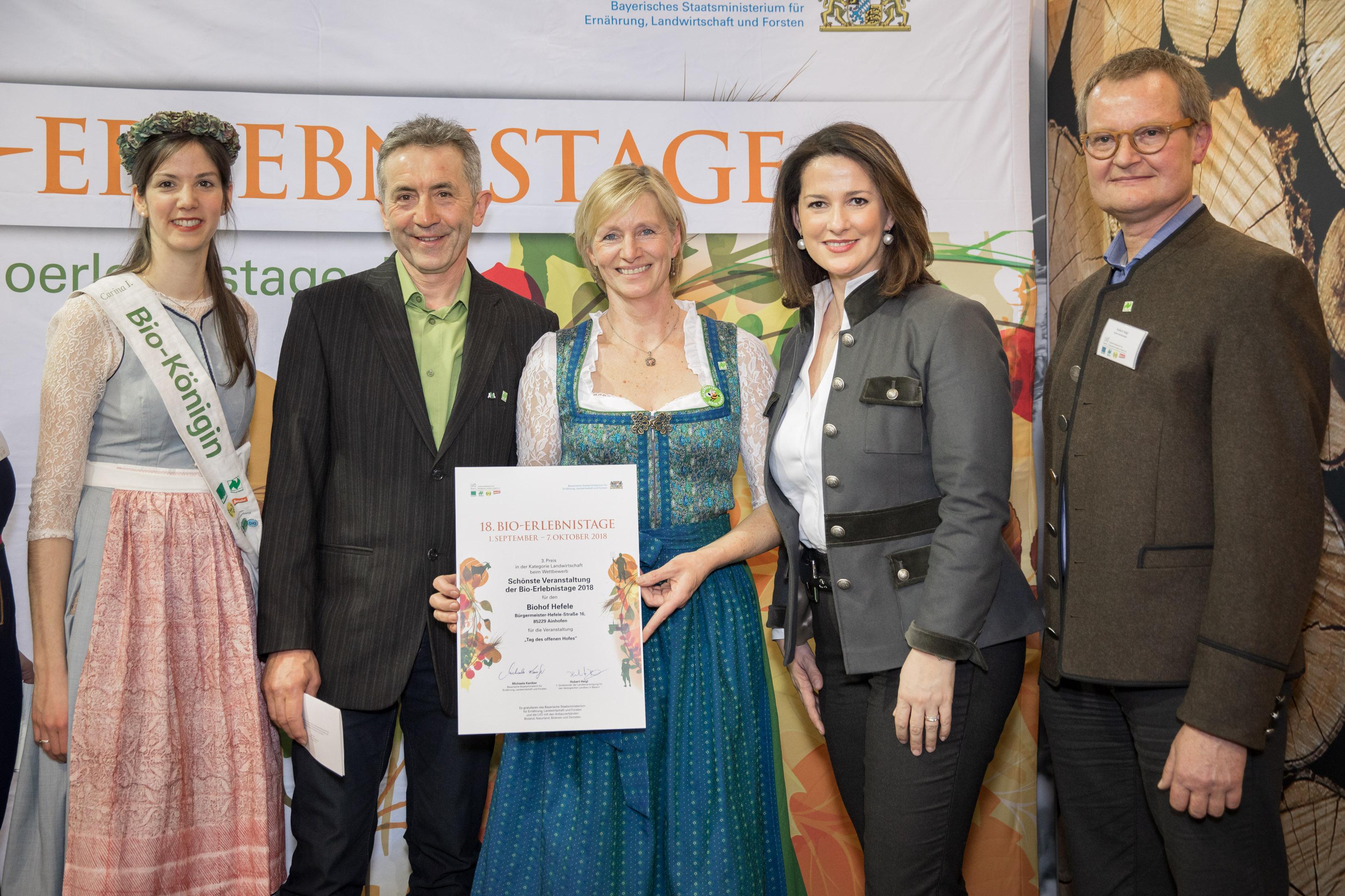 3. Preis:  Biohof Hefele