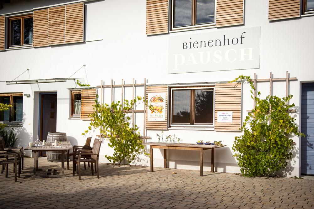 Eingangsbereich Bienenhof Pausch