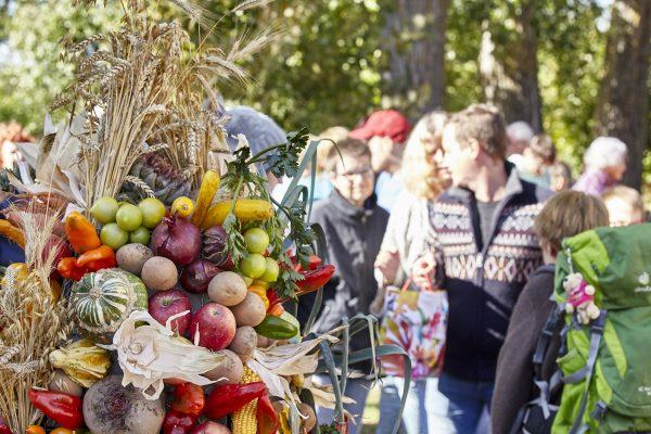 Erntedankfest mit vielen Besuchern