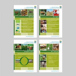 A4 Werbematerial Ökolandbau Bio-Erlebenistage