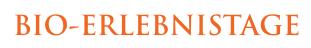 Bio-Erlebnistage Logo